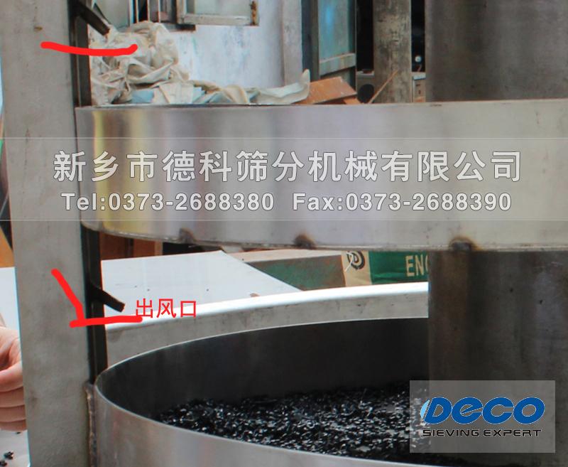 热风干燥螺旋提升机帮助物料升温干燥